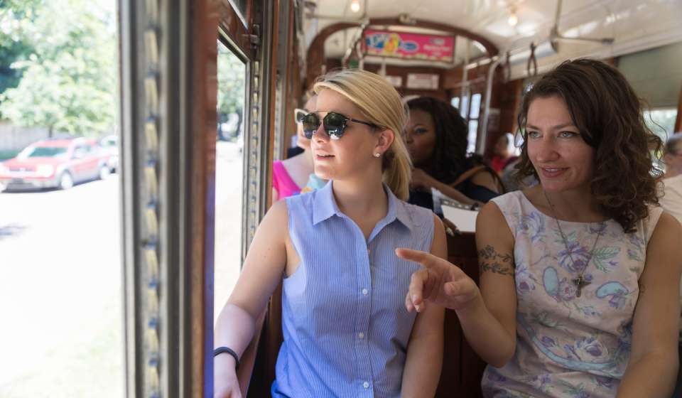 Sight-Seeing on the St. Charles Avenue Streetcar
