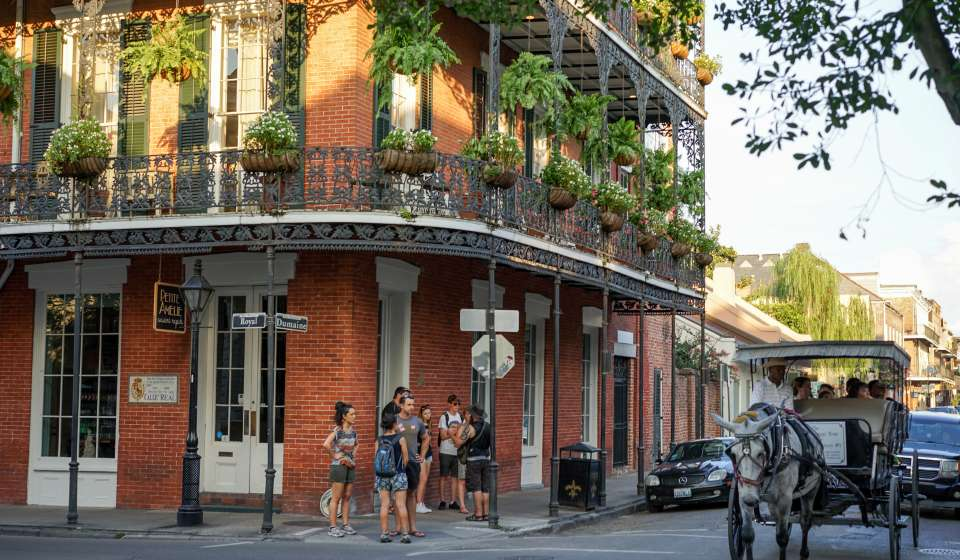 Summer in the French Quarter