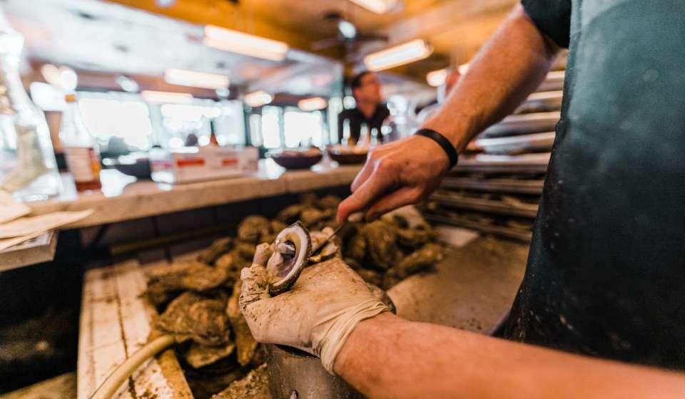 Freshly Shucked Oysters - Superior Seafood