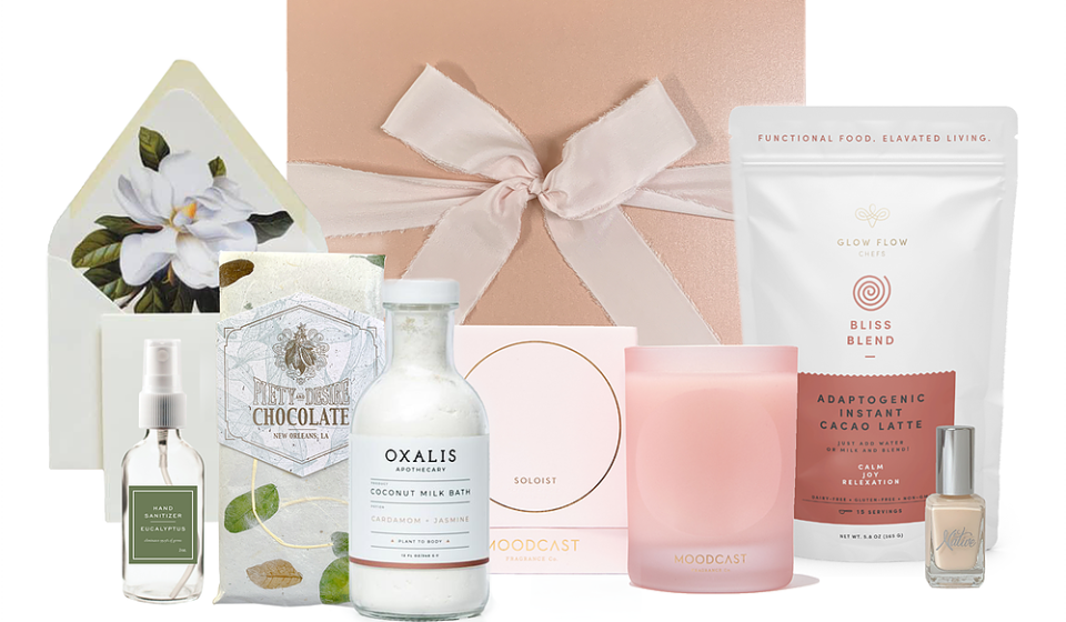The Complete Comfort Gifting Box from Sweet Olive Gifting Co.