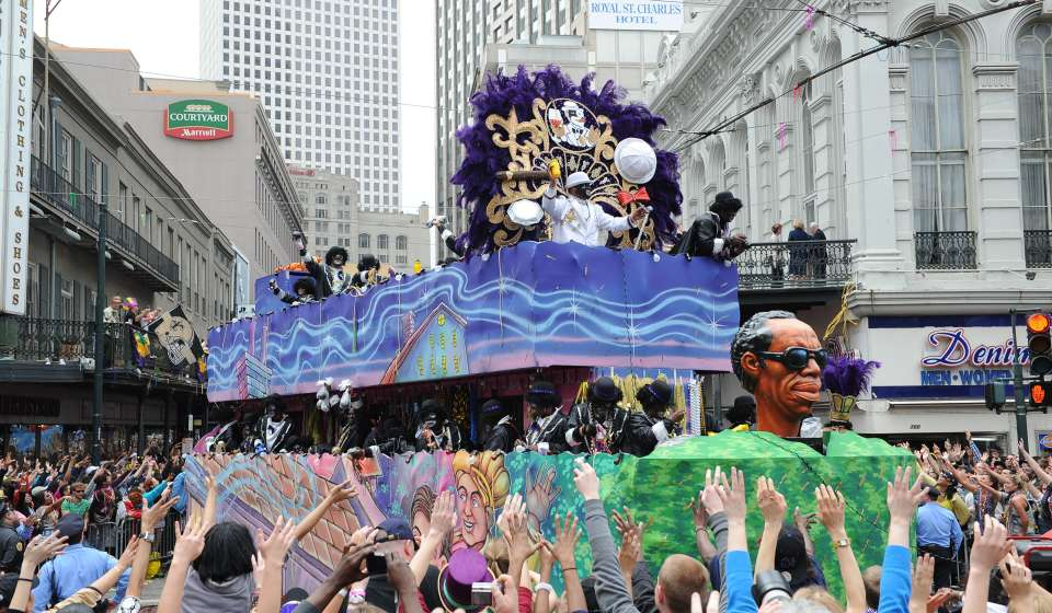 Zulu Parade - Mardi Gras Day