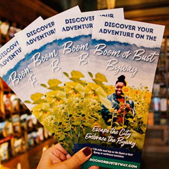 Boom or Bust Byways brochures
