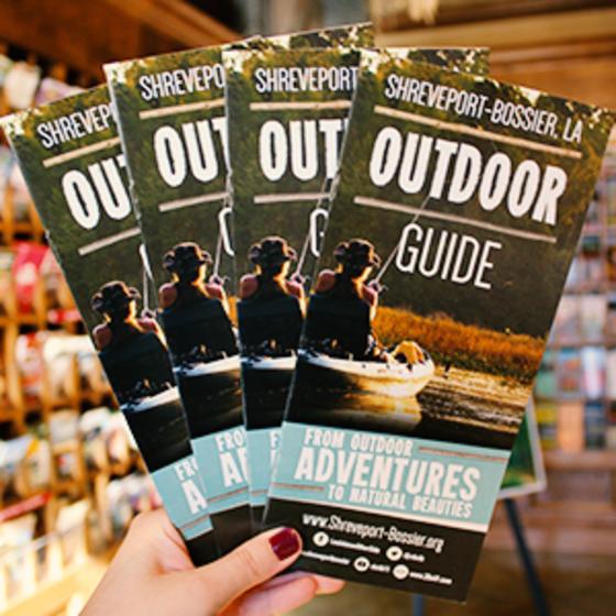 Shreveport-Bossier Outdoor Guide brochure