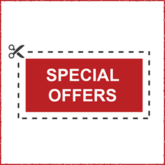 coupon with Special Offers