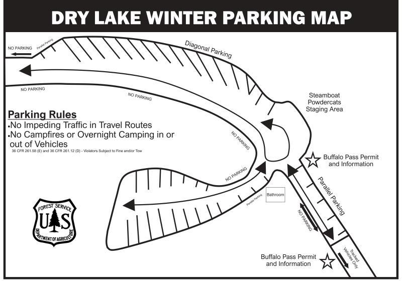 Dry Lake Winter Parking