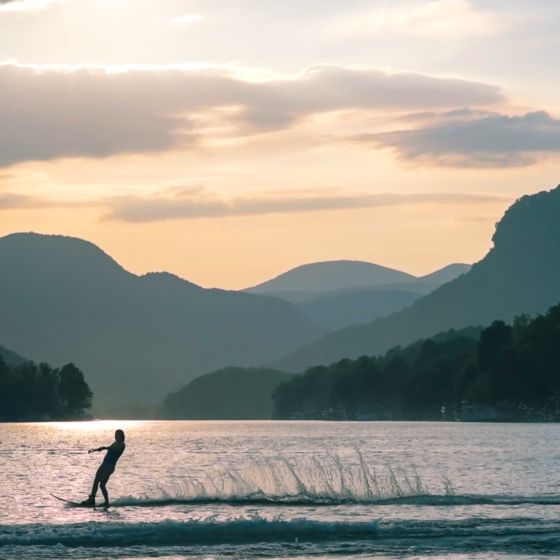 Watersports on Lake Lure