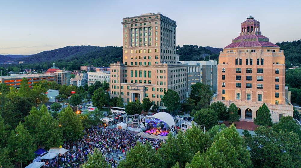 Downtown Asheville LEAF Festival