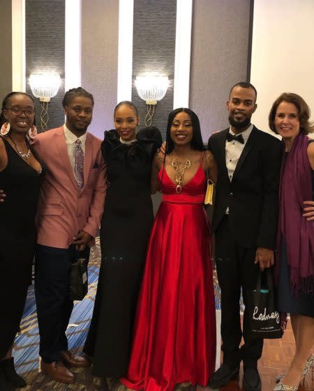 Attendees gathered at the Black Excel Gala, February 2020