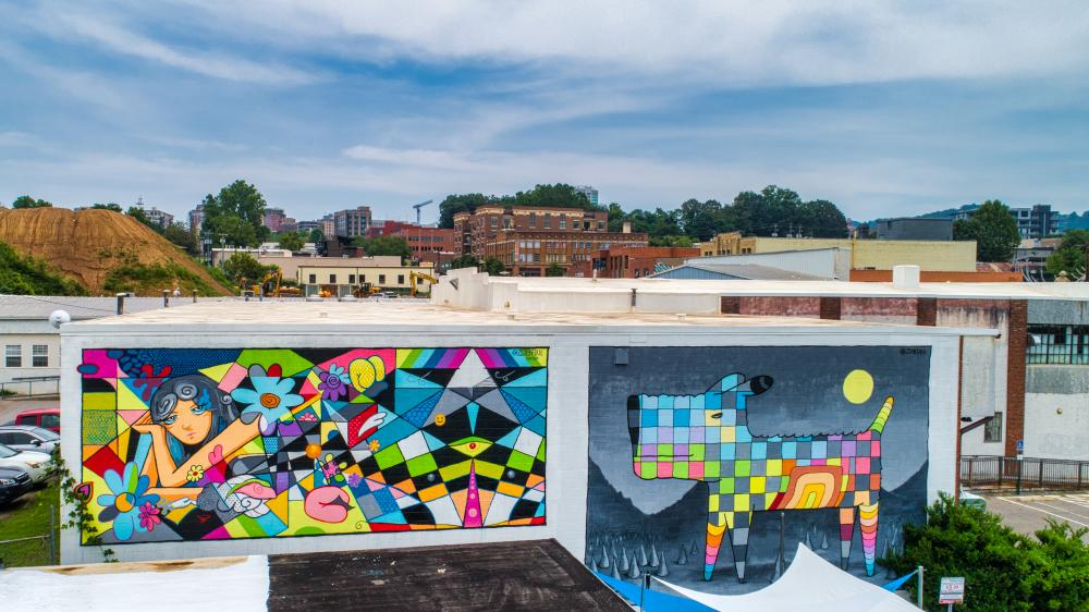 South Slope Mural