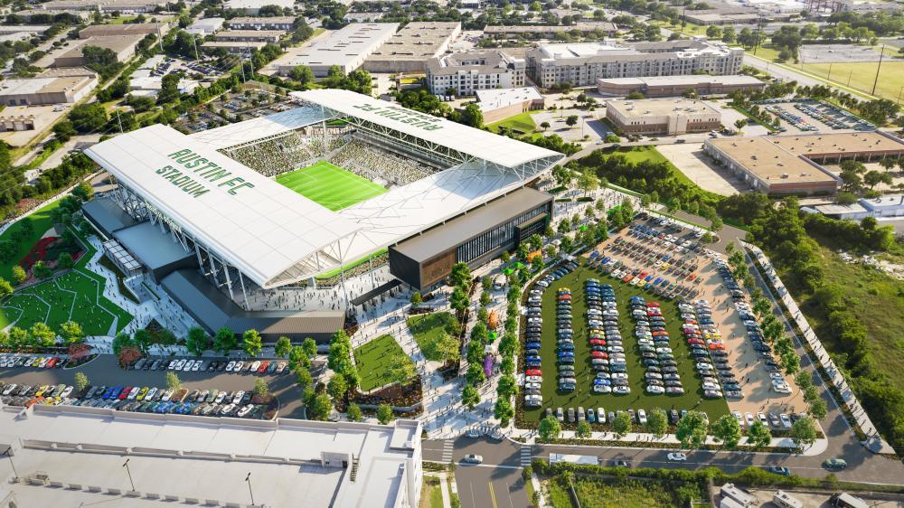 Austin FC Stadium Rendering