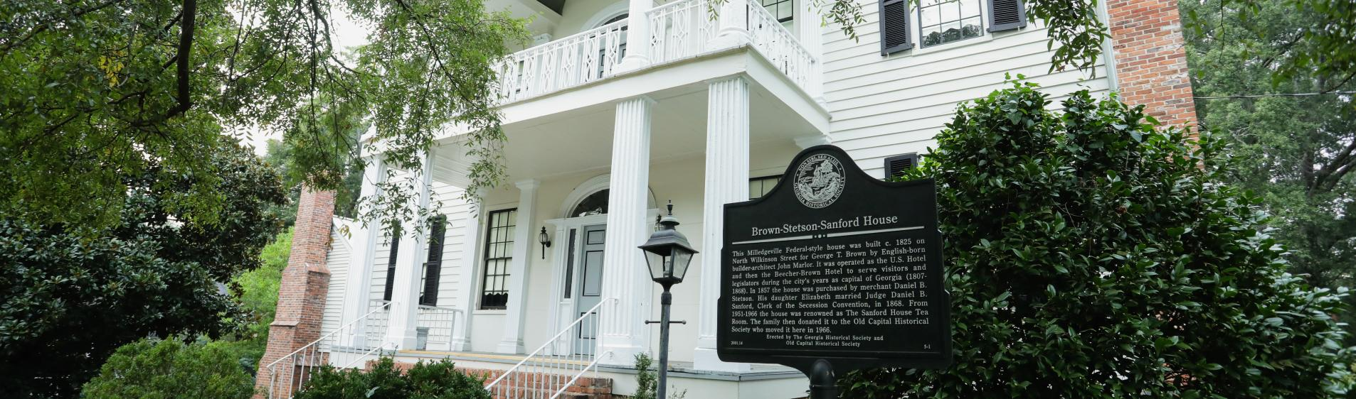 The Sanford House in Milledgeville