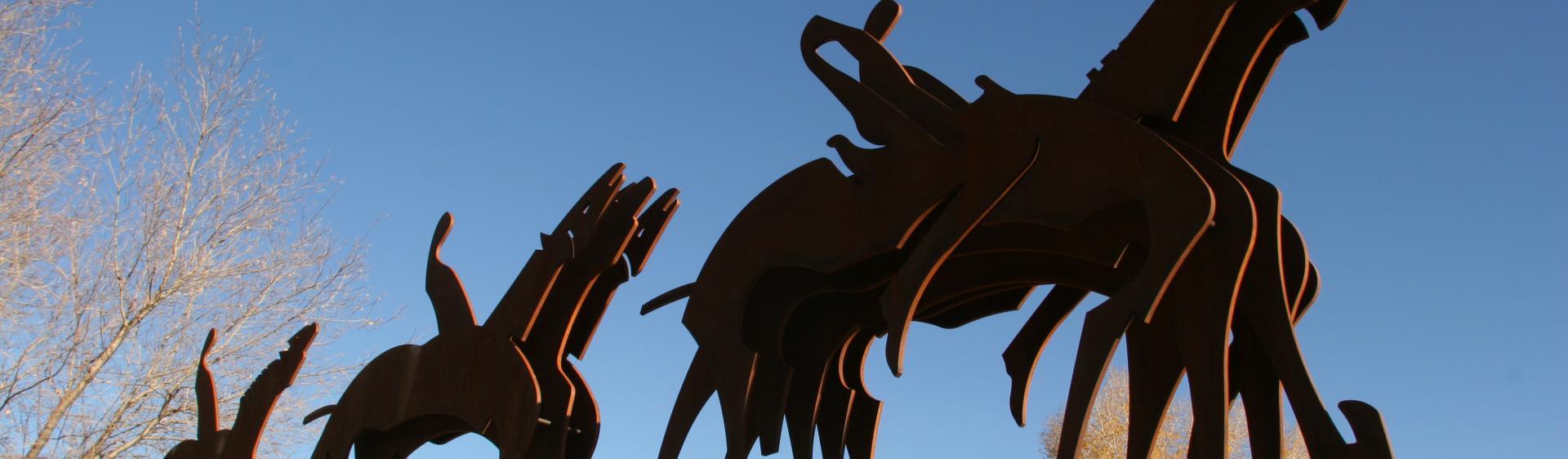 Parade Formation Sculpture