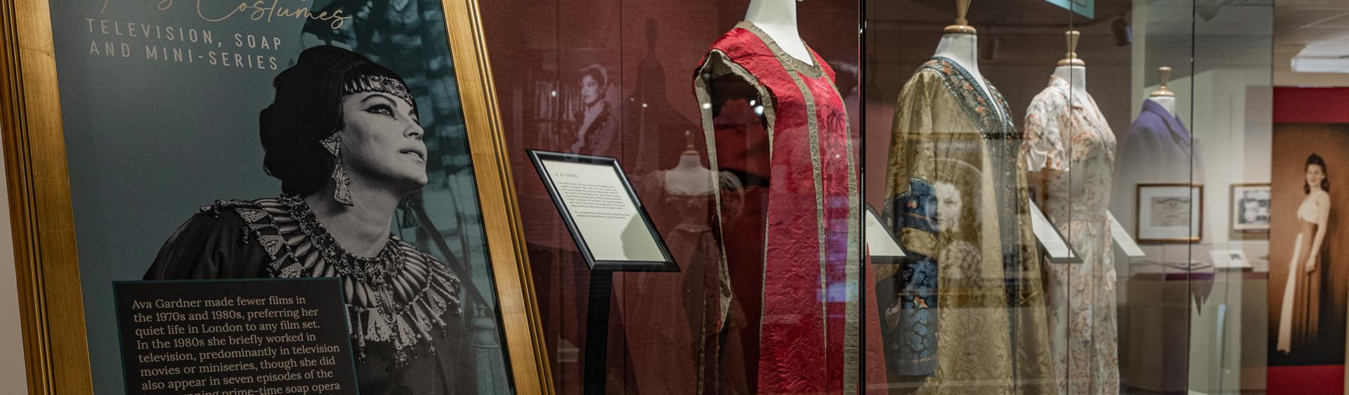 New exhibit of Ava Gardner's television roles featuring 4 new costumes.