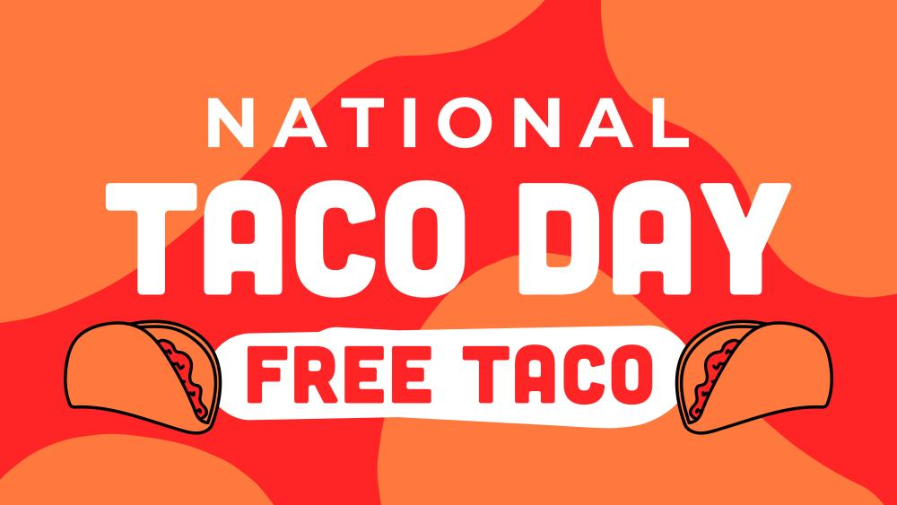 National Free Taco Day