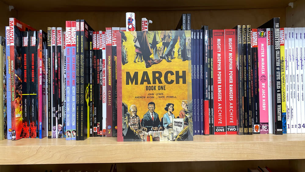 comic book march from elite comics overland park