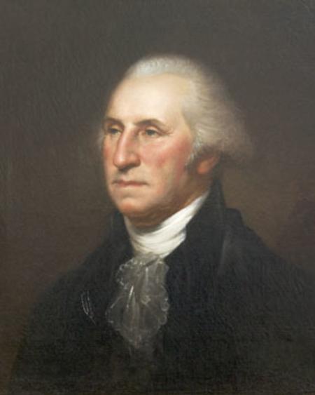 George Washington portrait by Rembrandt Peale.