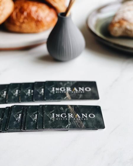 In Grano Bakery Annapolis Gift Cards.