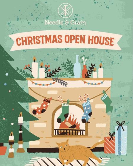 Needle & Grain Christmas Open House