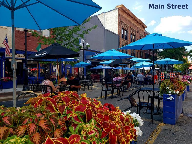 Outdoor Dining Main Street Ann Arbor