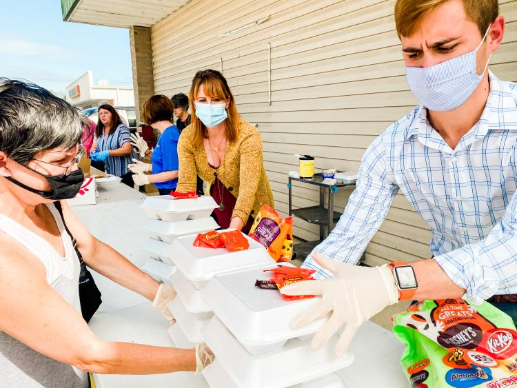 Visit Lake Charles Staff Volunteering