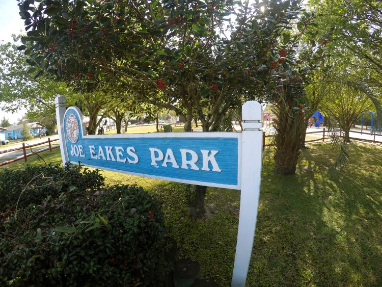 Joe Eakes Park Signage