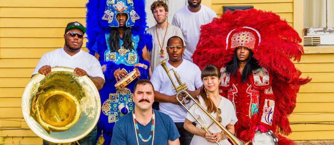 A photo of the funk group Cha Wa
