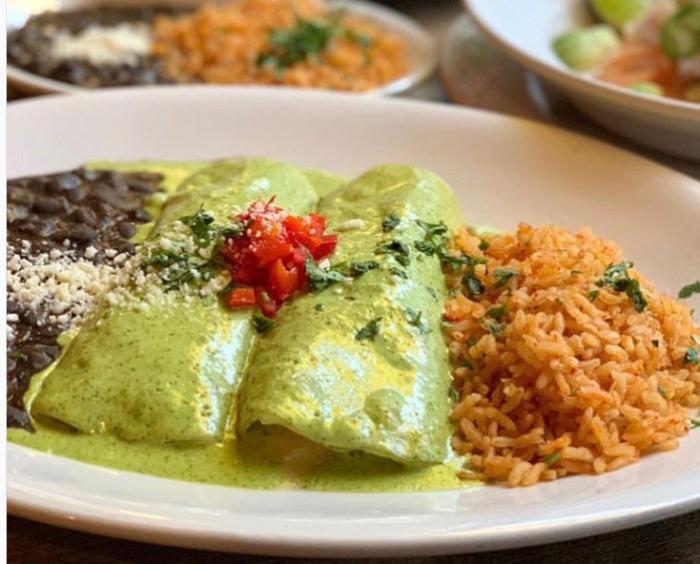 Orange County Restaurant Week enchiladas