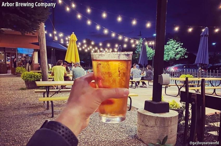 Beer at Arbor Brewing Company