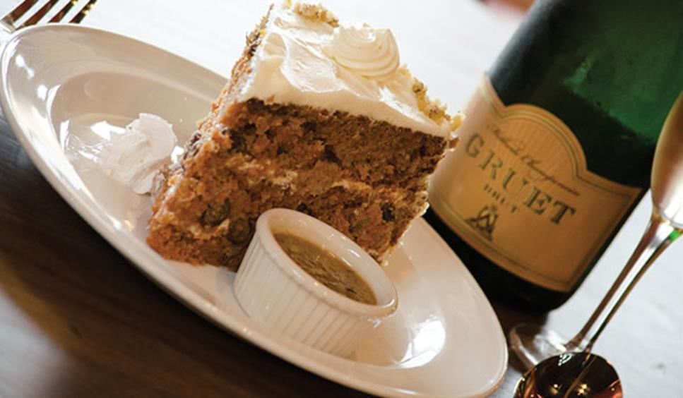 Farmhouse Restaurant cake