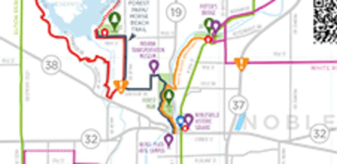 Hamilton County Maps Travel Maps