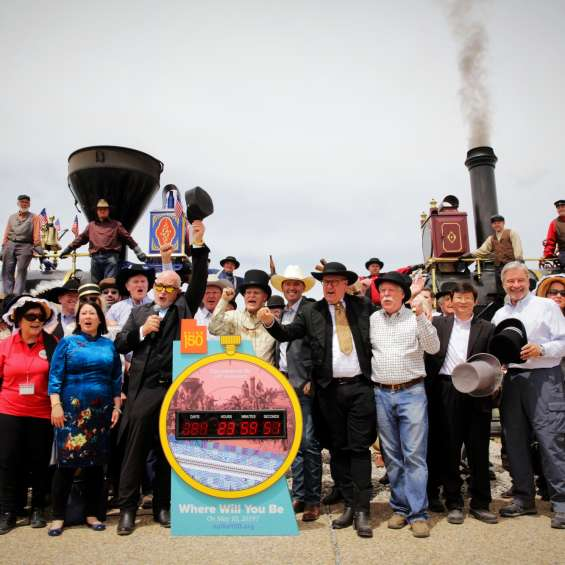 Countdown Clock at Golden Spike National Historic Site