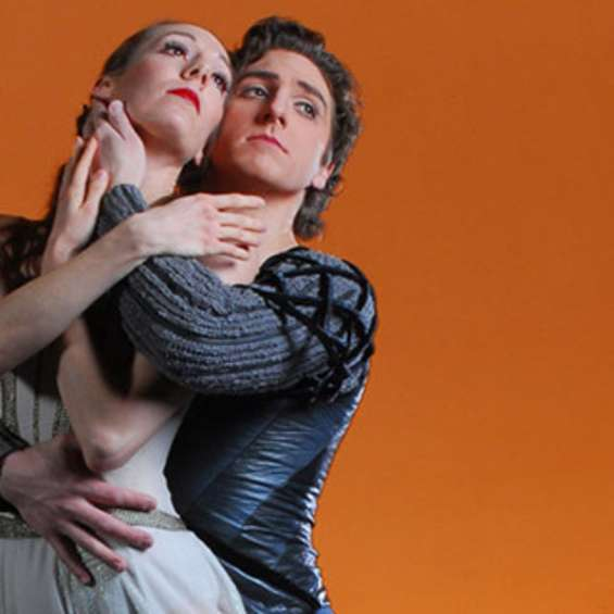 Ballet West's Annie Breneman and Christopher Ruud in