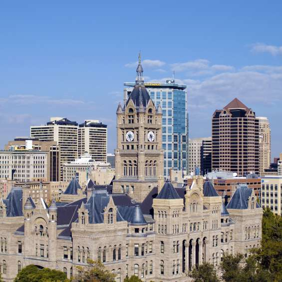 Downtown Salt Lake City Skyline
