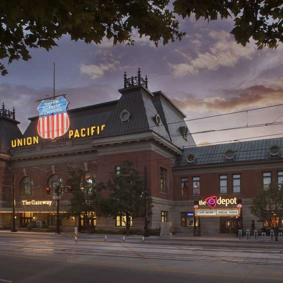 Salt Lake City Union Pacific Depot