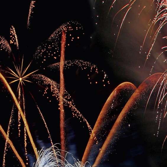 Fireworks in Salt Lake