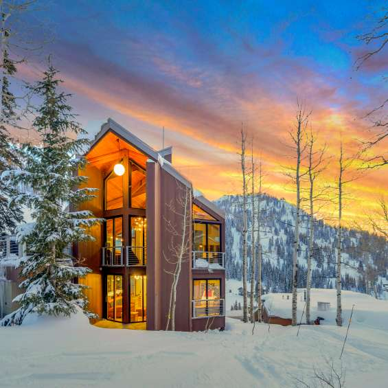 Ski City is full of incredible places to stay like this Alta Chalet