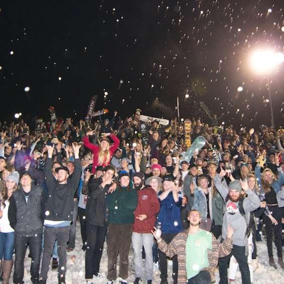 Shredfest Crowd