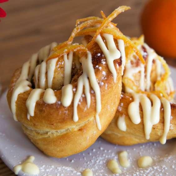 Orange Rolls at Tradition