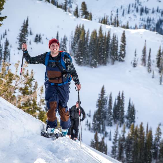 Ski touring with Snowcat Skiing for Nature at Snowbird