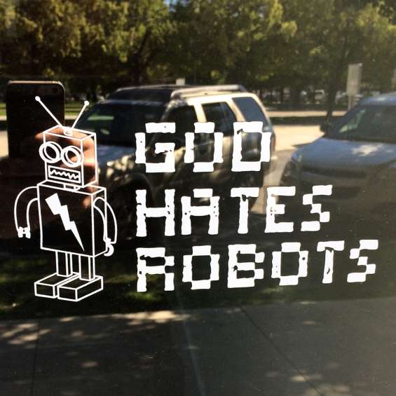 God Hates Robots Art Gallery - Photo: Michael Mack