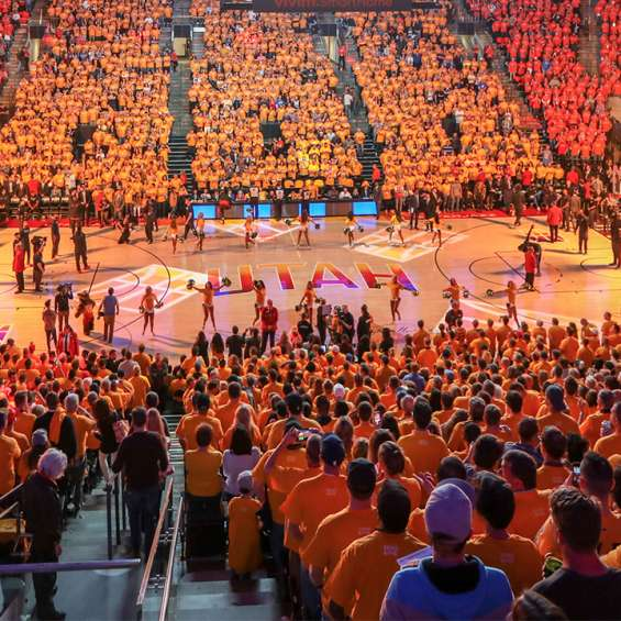 Utah Jazz Basketball Game at Vivint Smart Home Arena