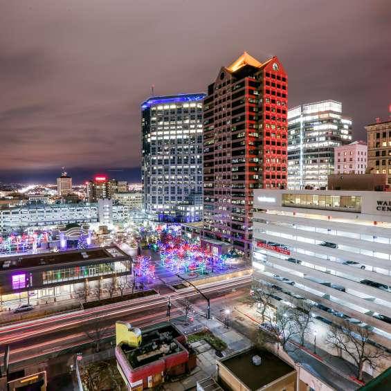 Downtown Salt Lake at Christmas