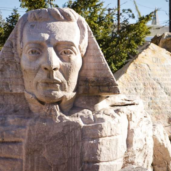 Gilgal Gardens Joseph Smith Sphinx