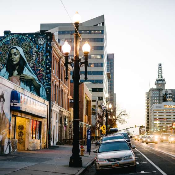Vibrant street art is just one of the many treats you will experience on your visit to Salt Lake City.
