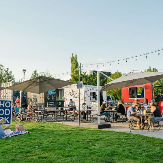Food Trucks at SoHo Food Park