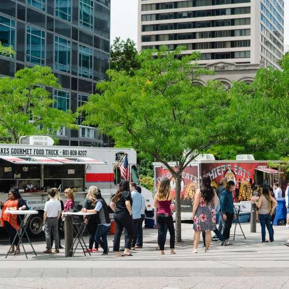 Food Trucks at The Gallivan Center