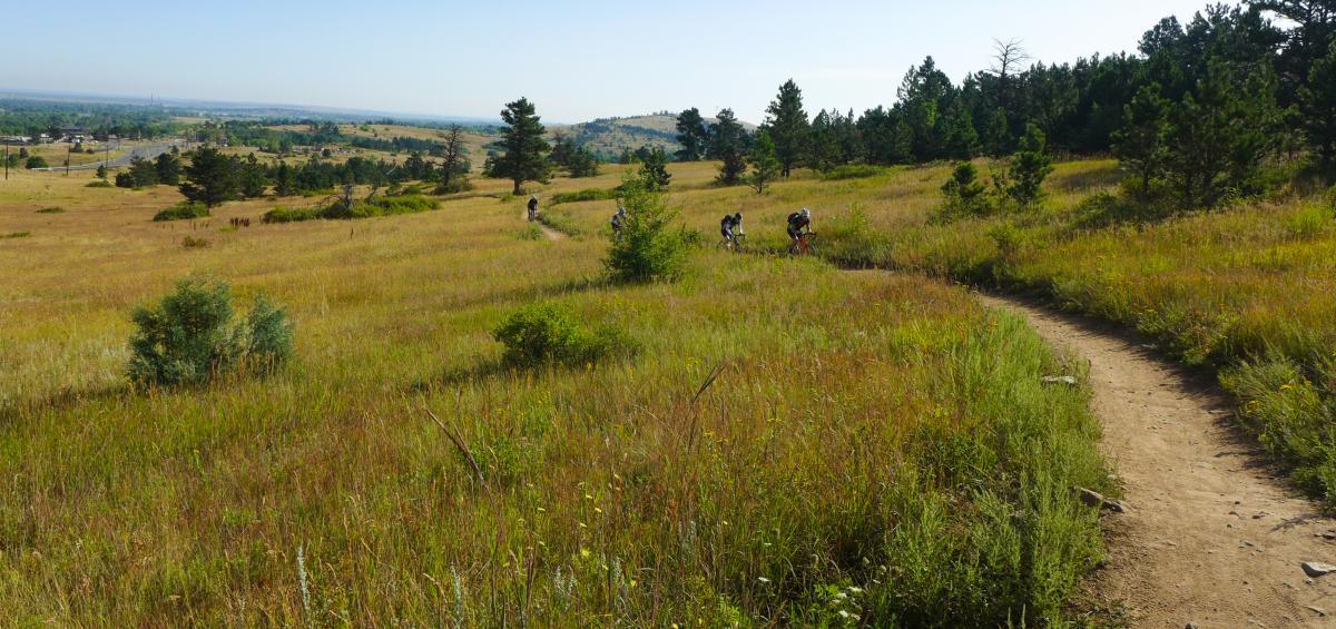 Marshall Mesa Mountain Biking