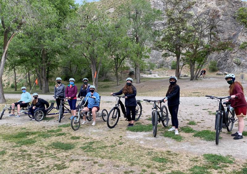 Kelowna Bike Rental FAM Visitor Experience Team
