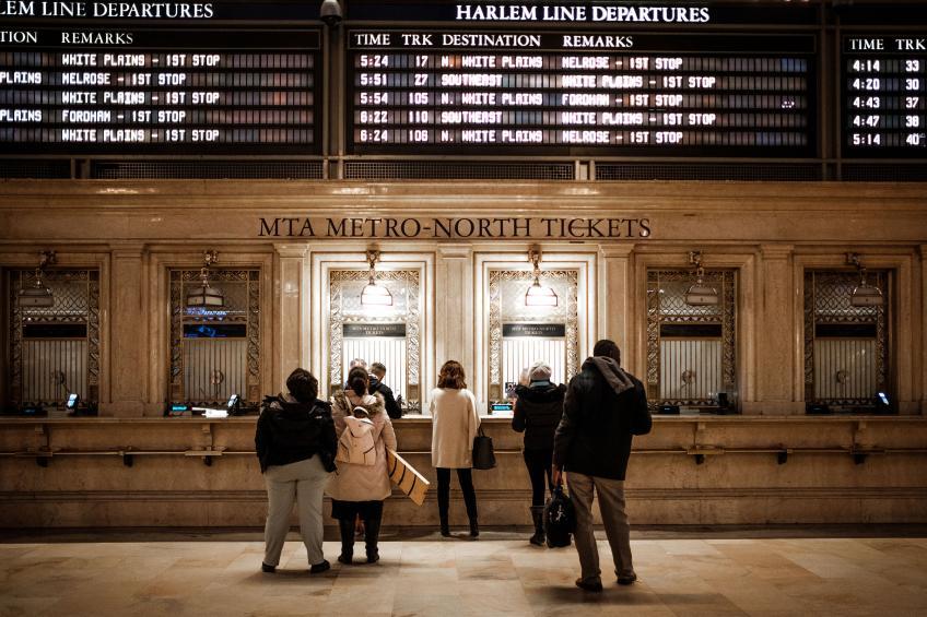 Grand Central Terminal. Photo:Eric Hsu