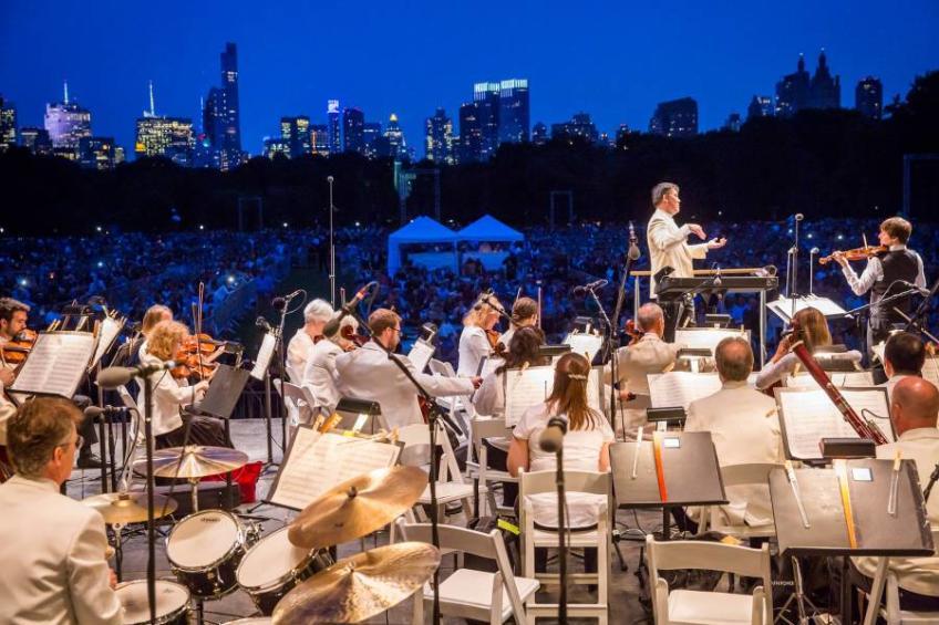 NY Philharmonic, Central Park